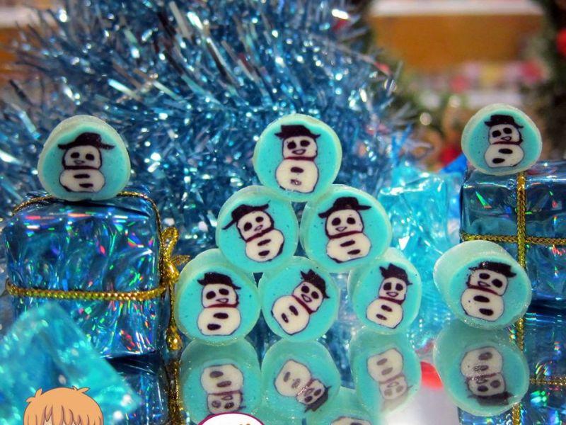 snowman candy
