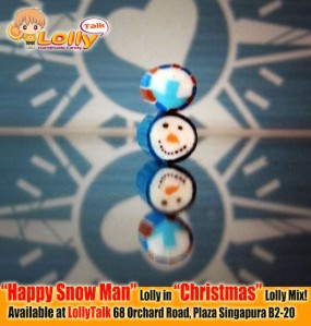 Snowman Candy by LollyTalk