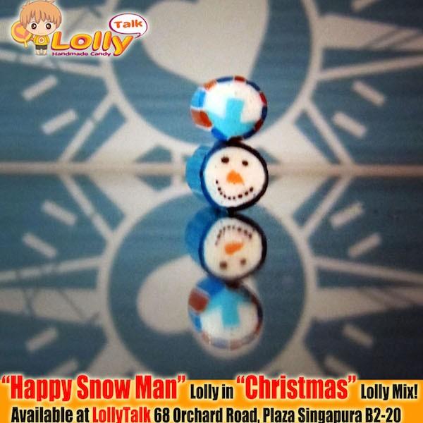 Snowman Candy by LollyTalk