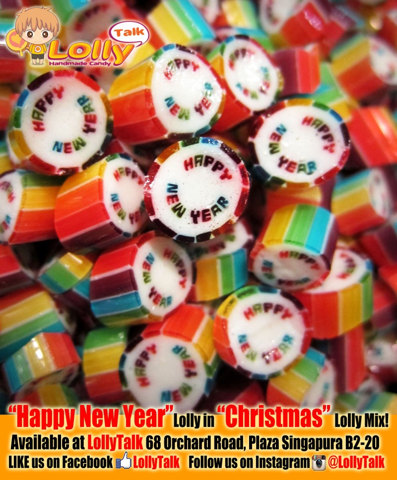 Happy New Year Candy