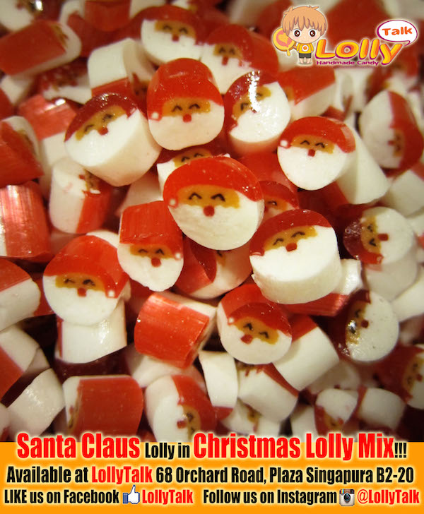 Smiling Santa Claus Candy by LollyTalk